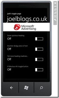 Windows Phone 7 Ads Sdk Example