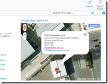 Google Maps Web Part for SharePoint 2010