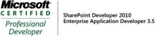 MCPD SharePoint 2010 and EAD 3.5